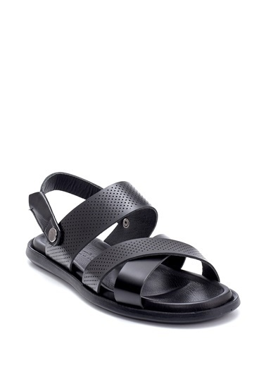 Derimod Erkek Sandalet(11) Casual Siyah
